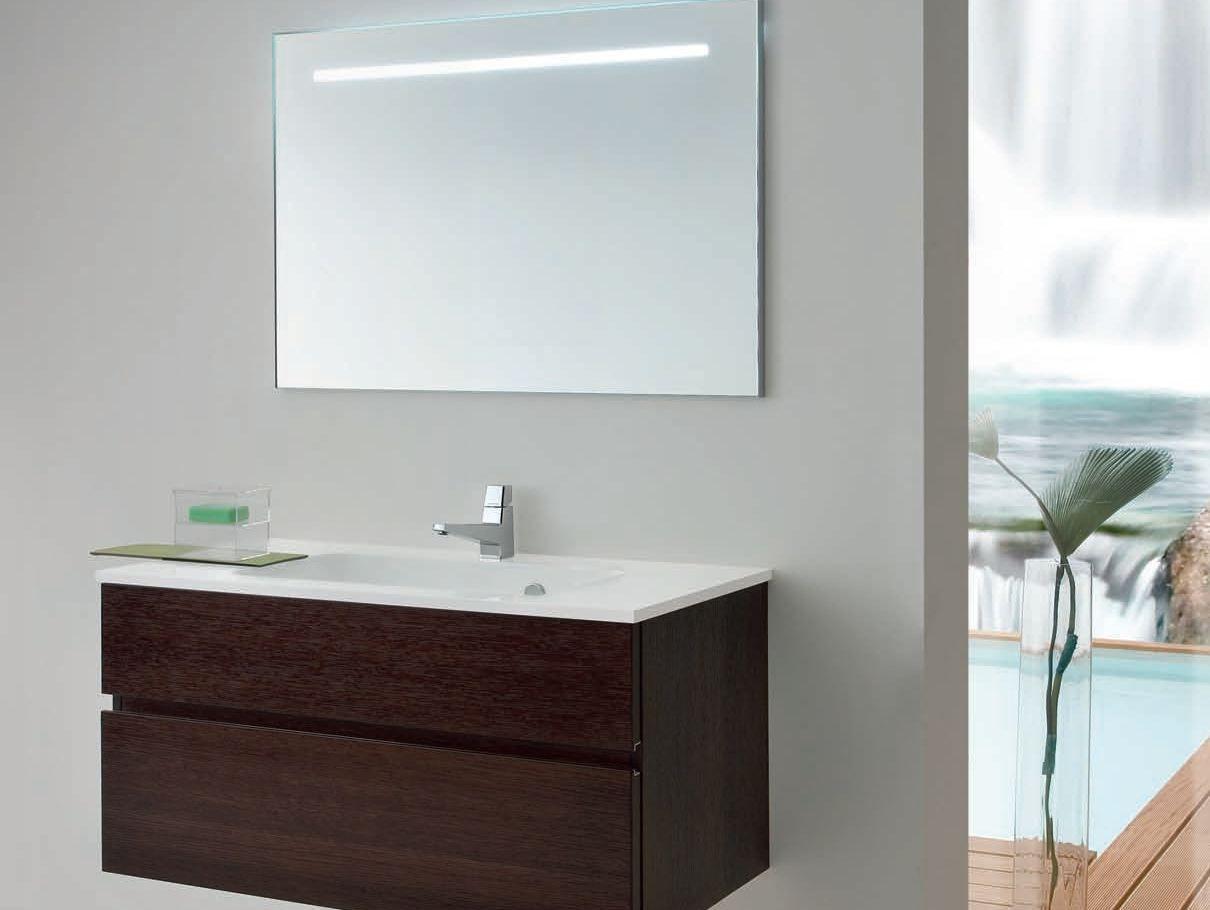 Mobile lavabo singolo con cassetti ab 7030 by rab arredobagno - Rab arredo bagno ...