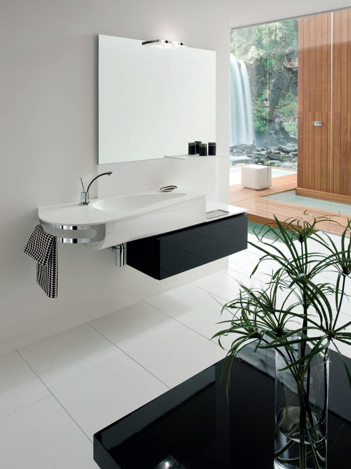 Mobile lavabo singolo ab 7024 rab arredobagno - Rab arredo bagno ...