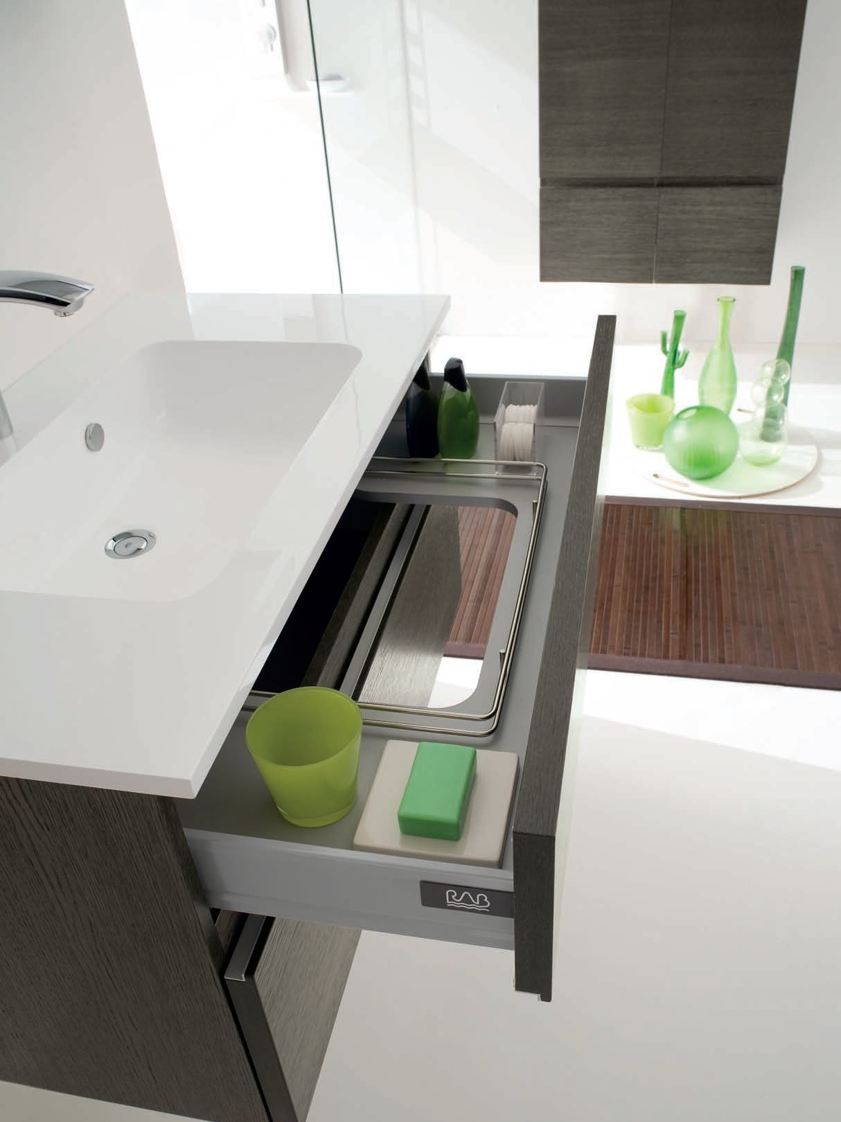 Salle de bains compl te ab 7029 collection wave by rab arredobagno - Tarif salle de bain complete ...