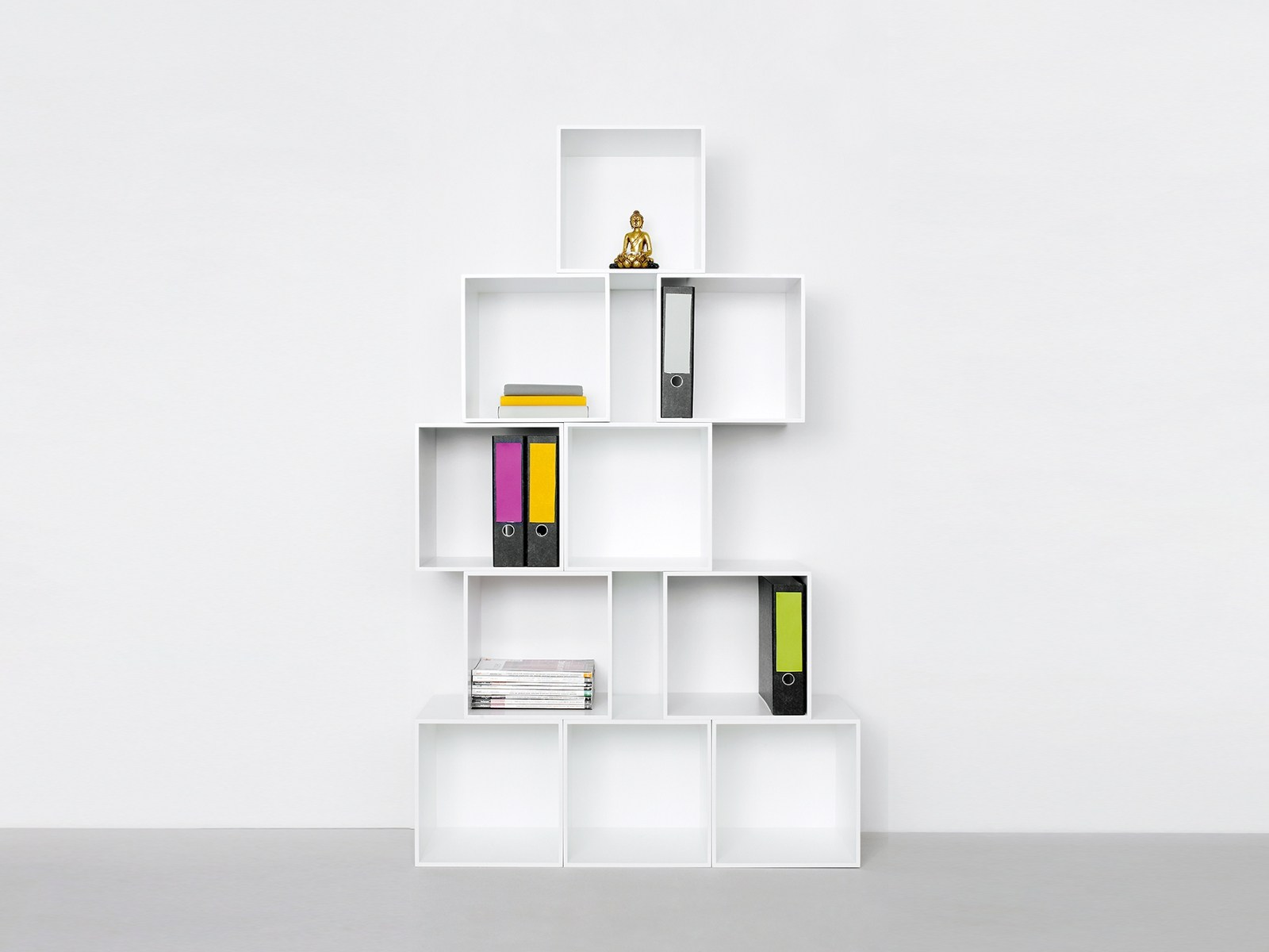 modular office shelving by cubit by mymito
