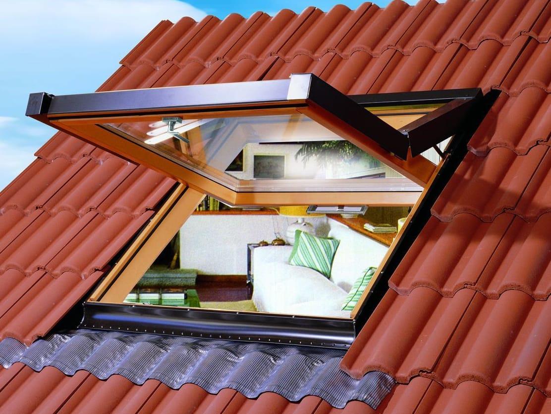 Finestra da tetto bc collezione finestre per mansarde by luxin for Finestra da tetto