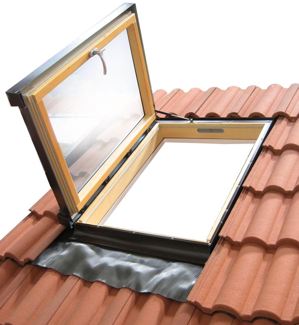 Ventana de techo materiales de construcci n para la for Ventana en el techo