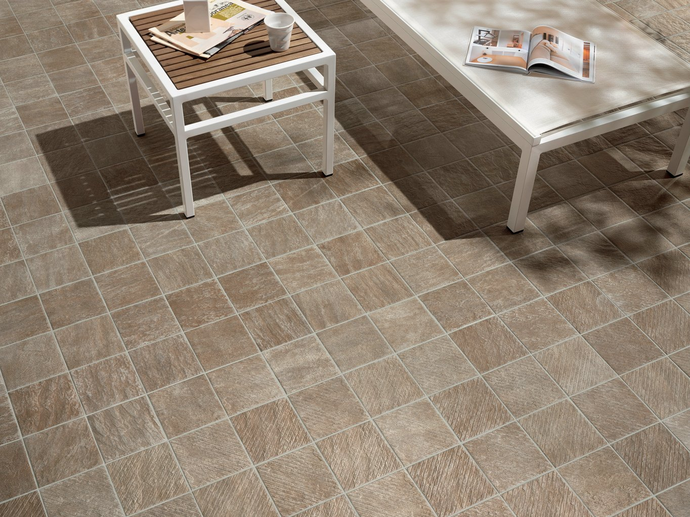 Porcelain stoneware outdoor floor tiles alpi pordoi by for Exterior floor tiles