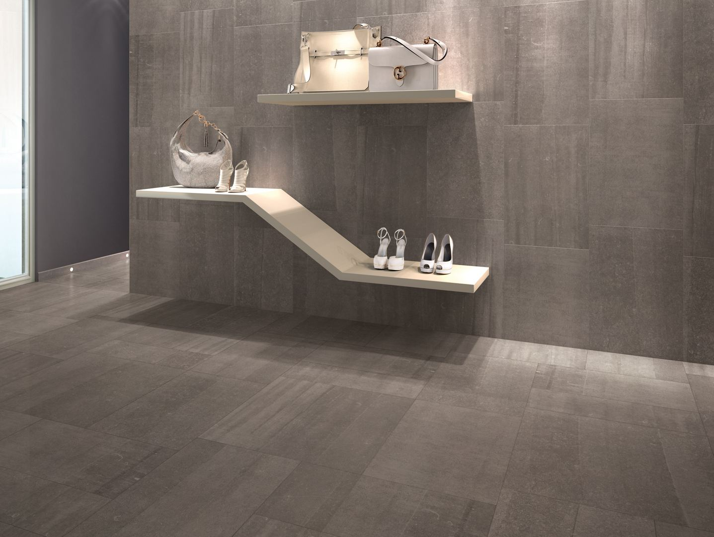 Pavimento rivestimento per interni back brown by ceramiche - Pavimento galleggiante per interni ...