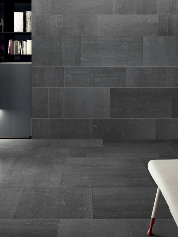 Indoor Wall Floor Tiles Back Anthracite By Ceramiche Keope