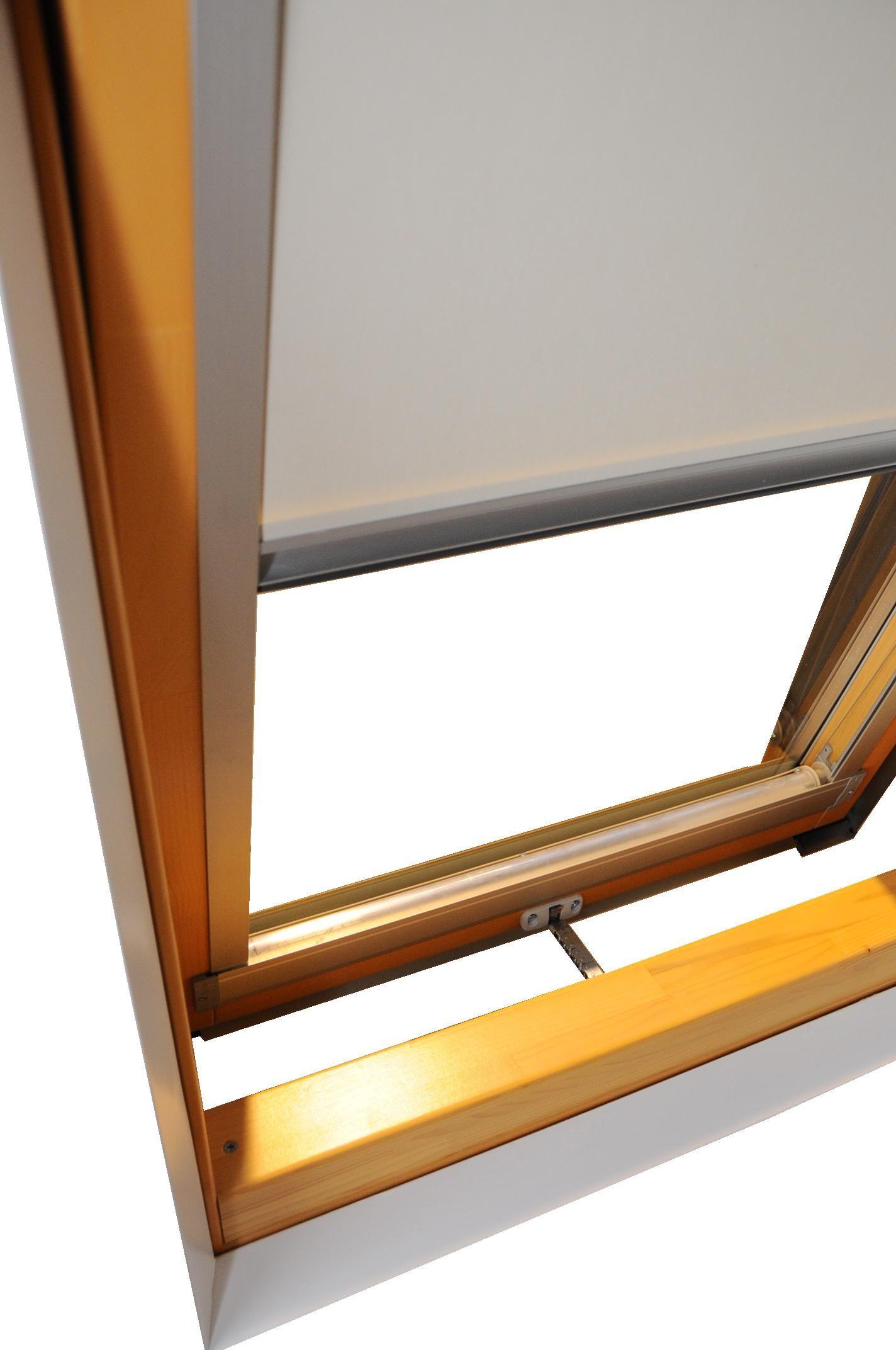 Cortina para ventanas de techo el ctrica de tejido t cnico for Ventanas para techo