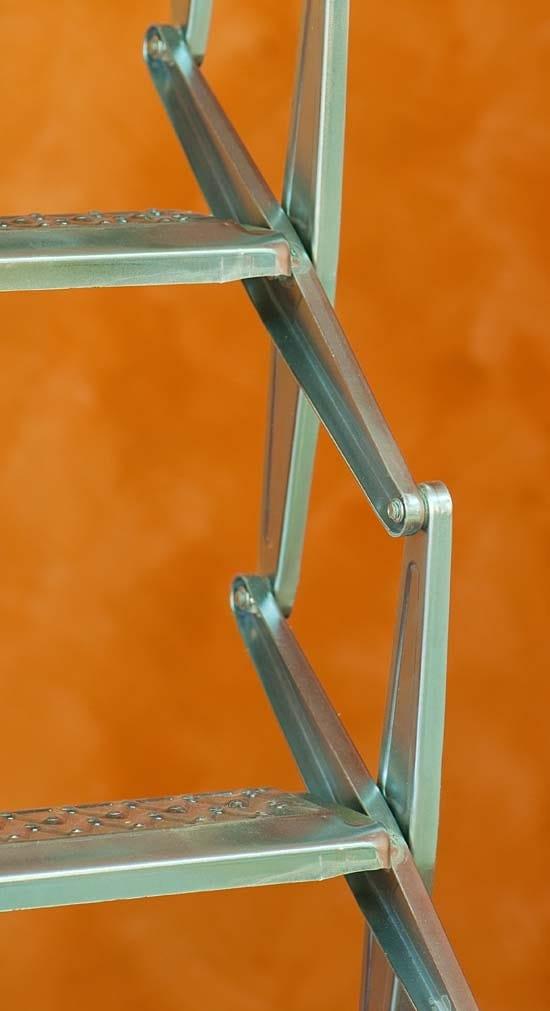 Escalier Escamotable En Acier Galvanis Starlux By Luxin