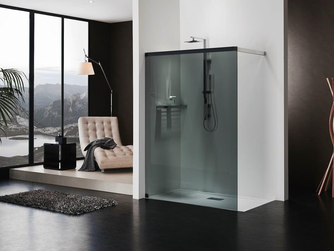 Cabina de ducha rectangulares de cristal libero 5000 by duka - Cabinas de ducha rectangulares ...