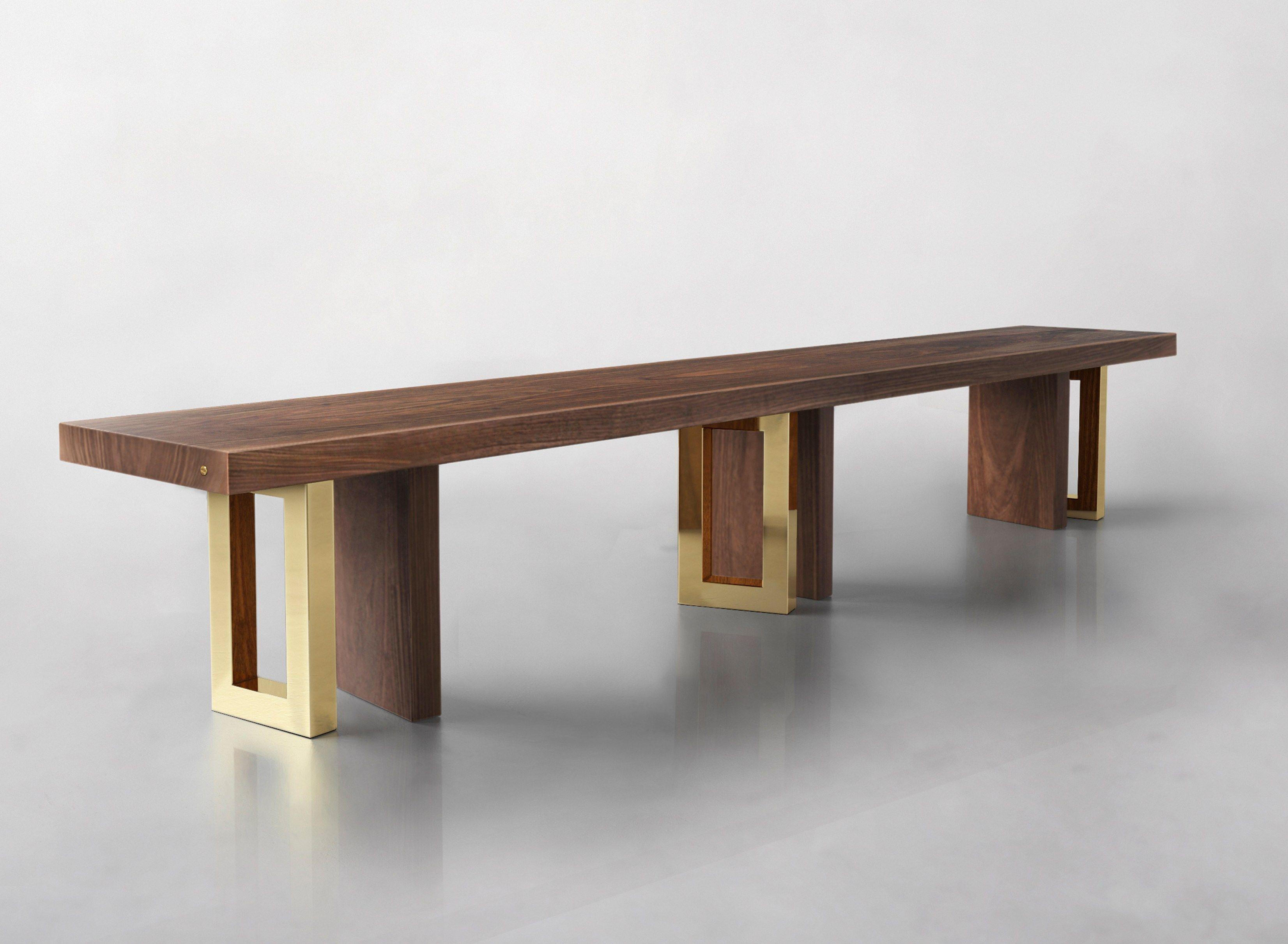 Solid Wood Bench Il Pezzo 6 Il Pezzo 6 Collection By Il Pezzo Mancante Design Ll Pezzo Mancante