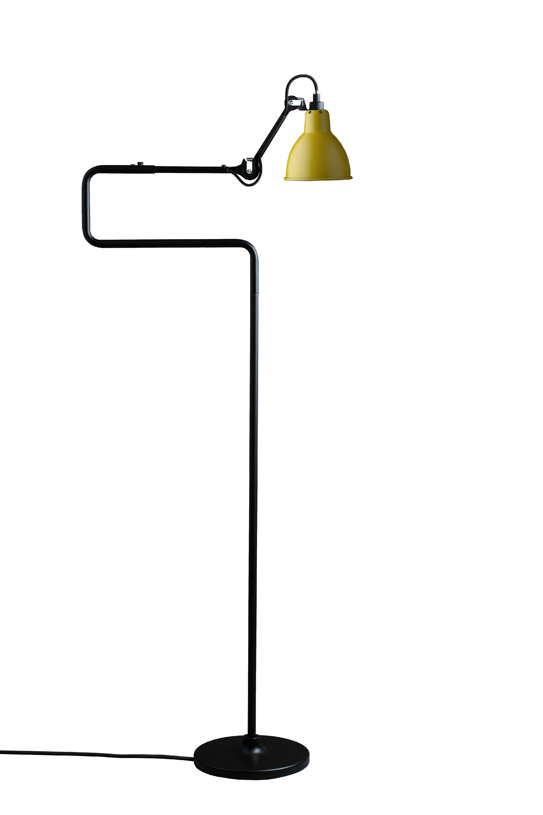 n 411 floor lamp by dcw ditions design bernard albin gras. Black Bedroom Furniture Sets. Home Design Ideas