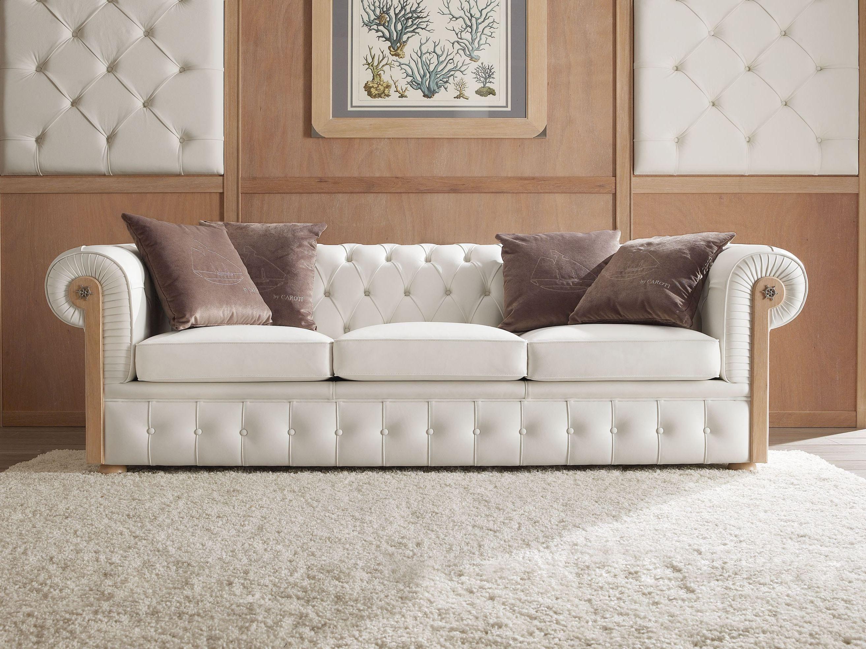 Sof capiton tapizado 3 plazas chester by caroti - Tapizados para sofas ...