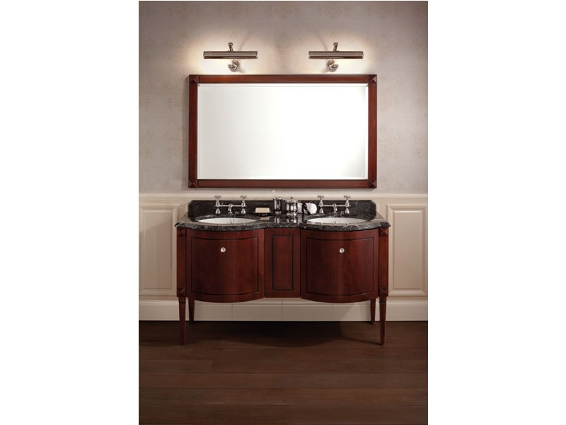 Applique bagno in ottone in stile classico park lampada - Applique per specchio bagno classico ...