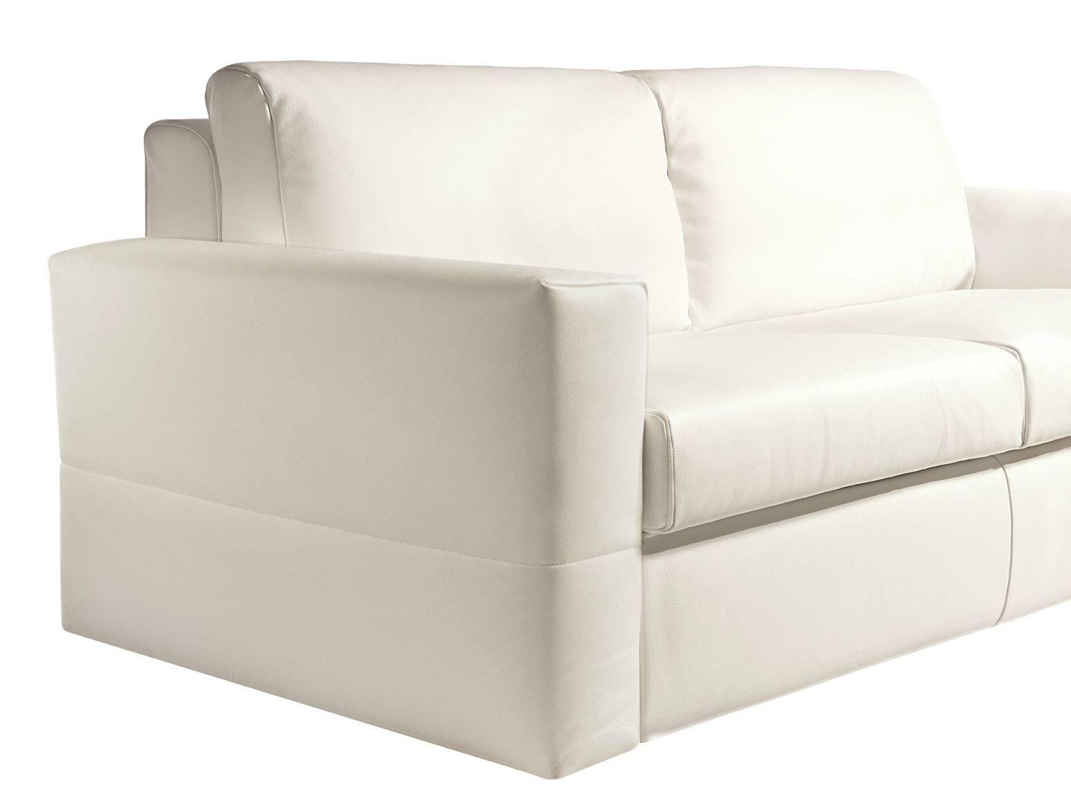 Divano letto in pelle a 2 posti simply design by bodema - Divano 2 posti letto ...