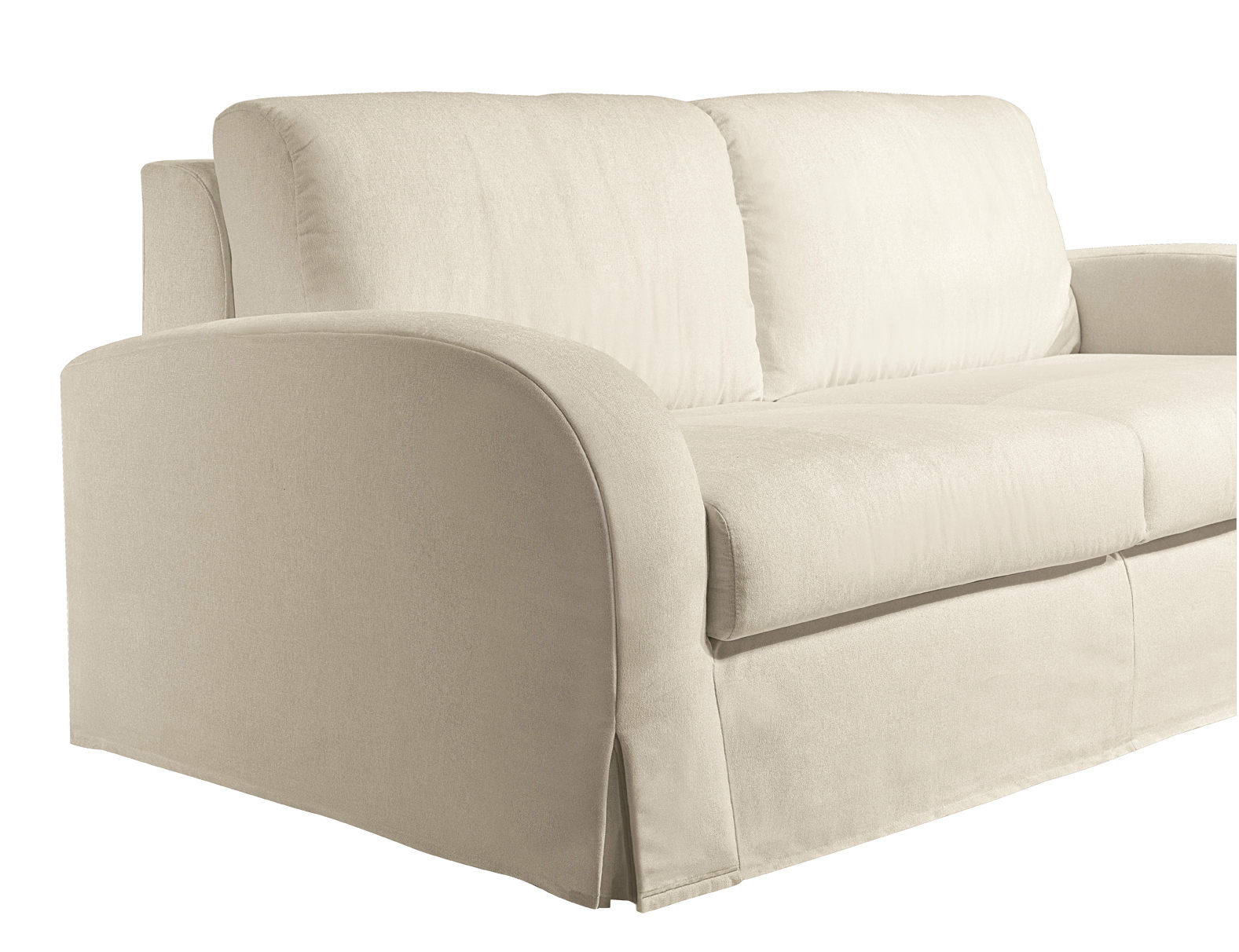 Sof cama 2 plazas de tela simply classic by bodema for Sofa cama de dos plazas baratos