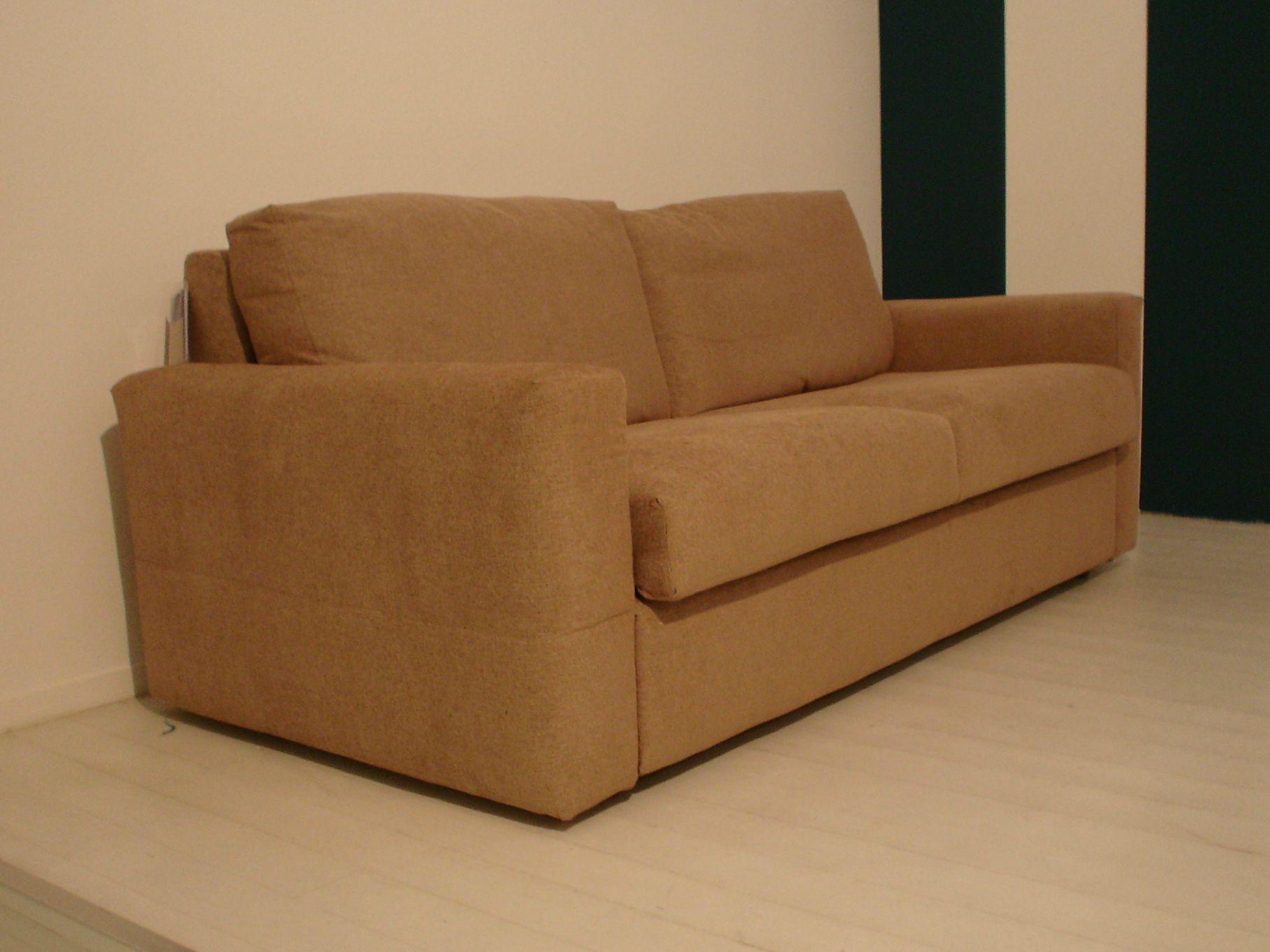 Divano letto in tessuto a 2 posti simply design by bodema - Divano letto a 2 posti ...
