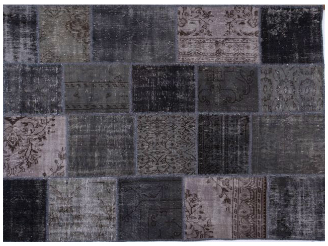 Tappeto fatto a mano patchwork rock by sirecom tappeti - Sirecom tappeti ...