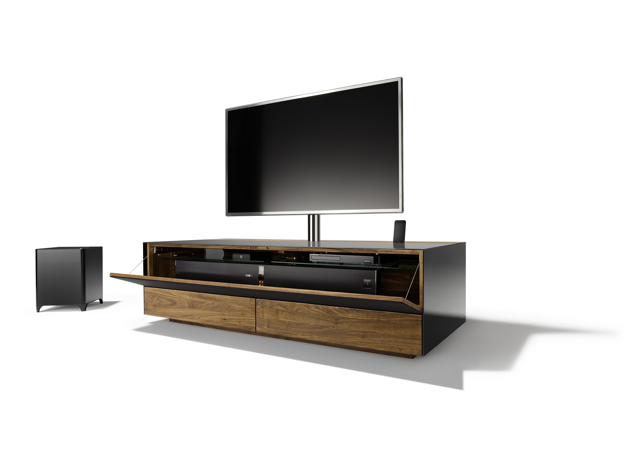 cubus pure tv lowboard by team 7 nat rlich wohnen design. Black Bedroom Furniture Sets. Home Design Ideas