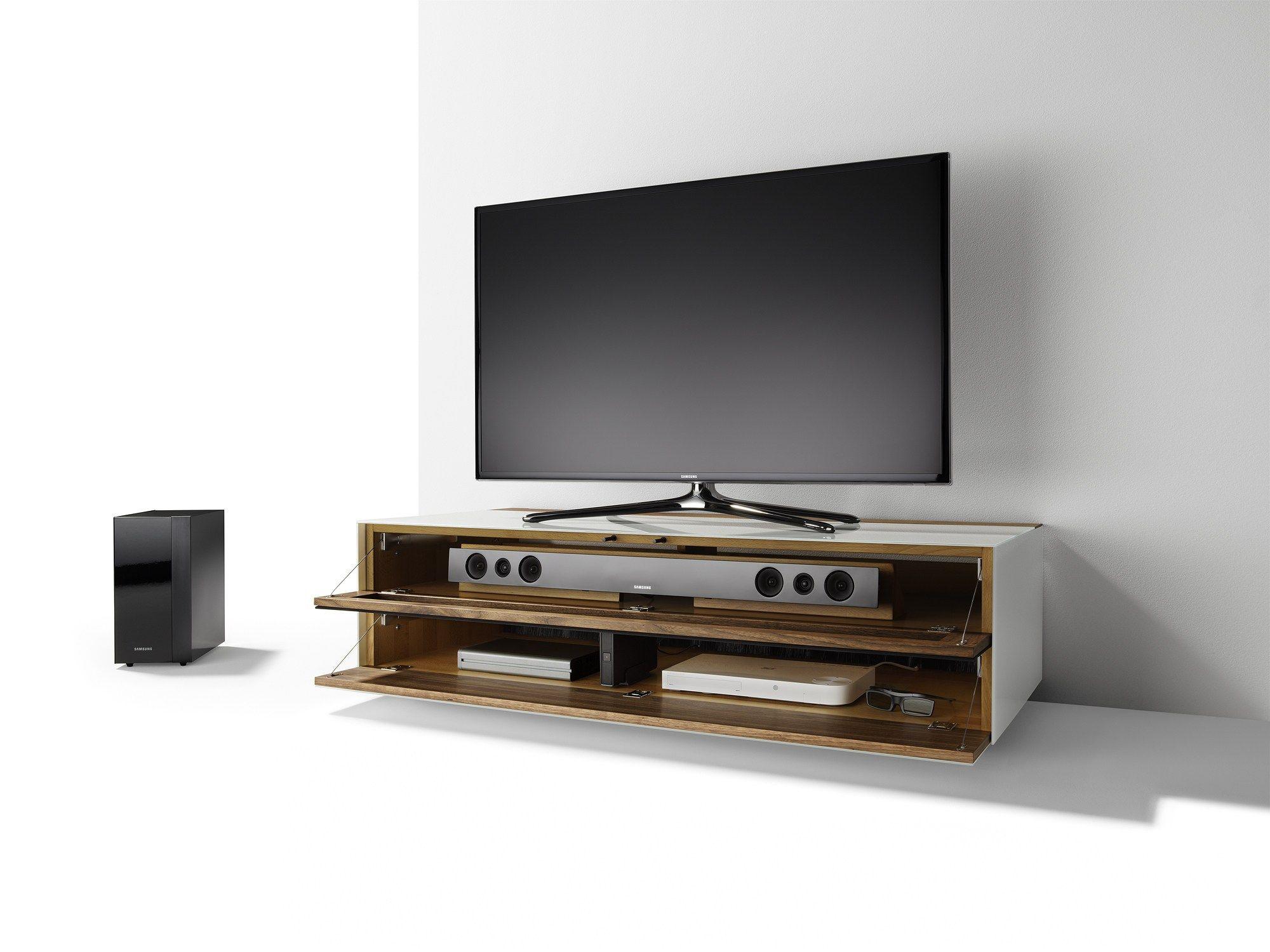 Meuble Tv Bas Et Long Bois Artzein Com # Meuble Tv Long Bois