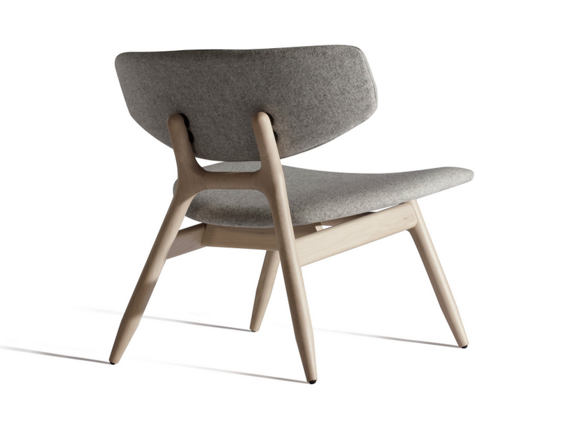 Fauteuil empilable collection eco by capdell design carlos tiscar - Fauteuil bas ontwerp ...