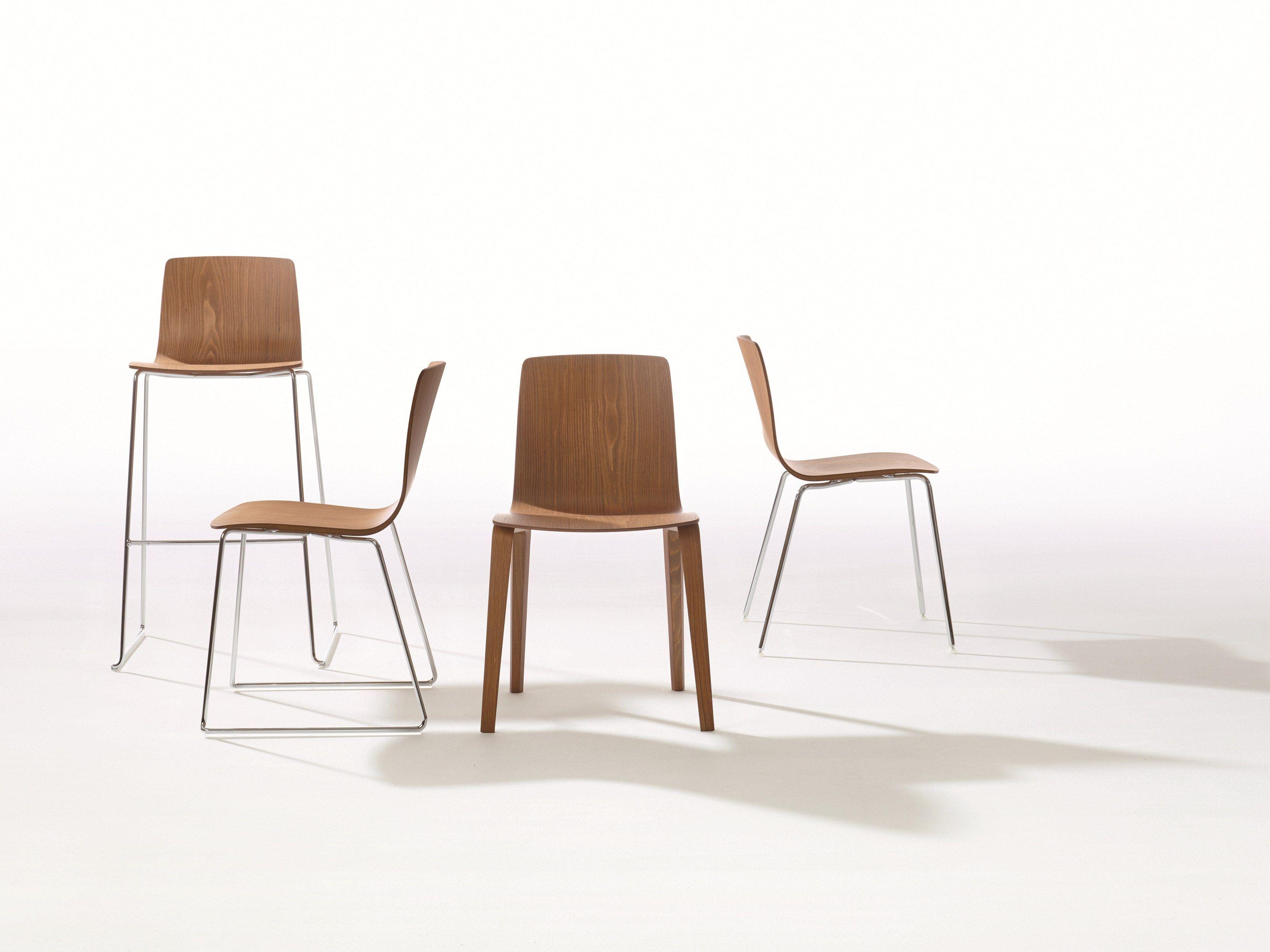 AAVA Sedia in legno by Arper design Antti Kotilainen