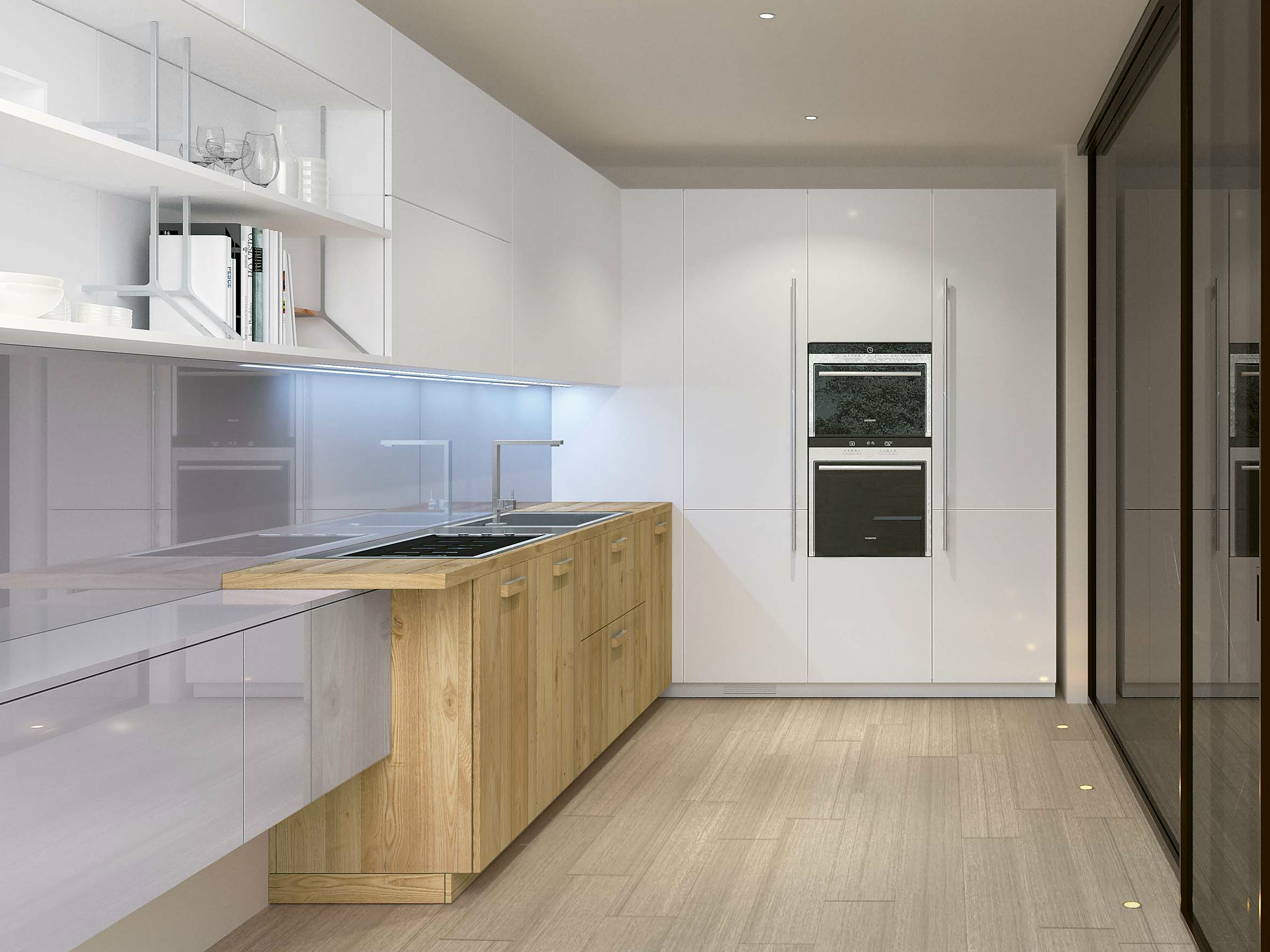 Noblesse cucina in legno massello by aster cucine design lorenzo granocchia - Cucine aster prezzi ...
