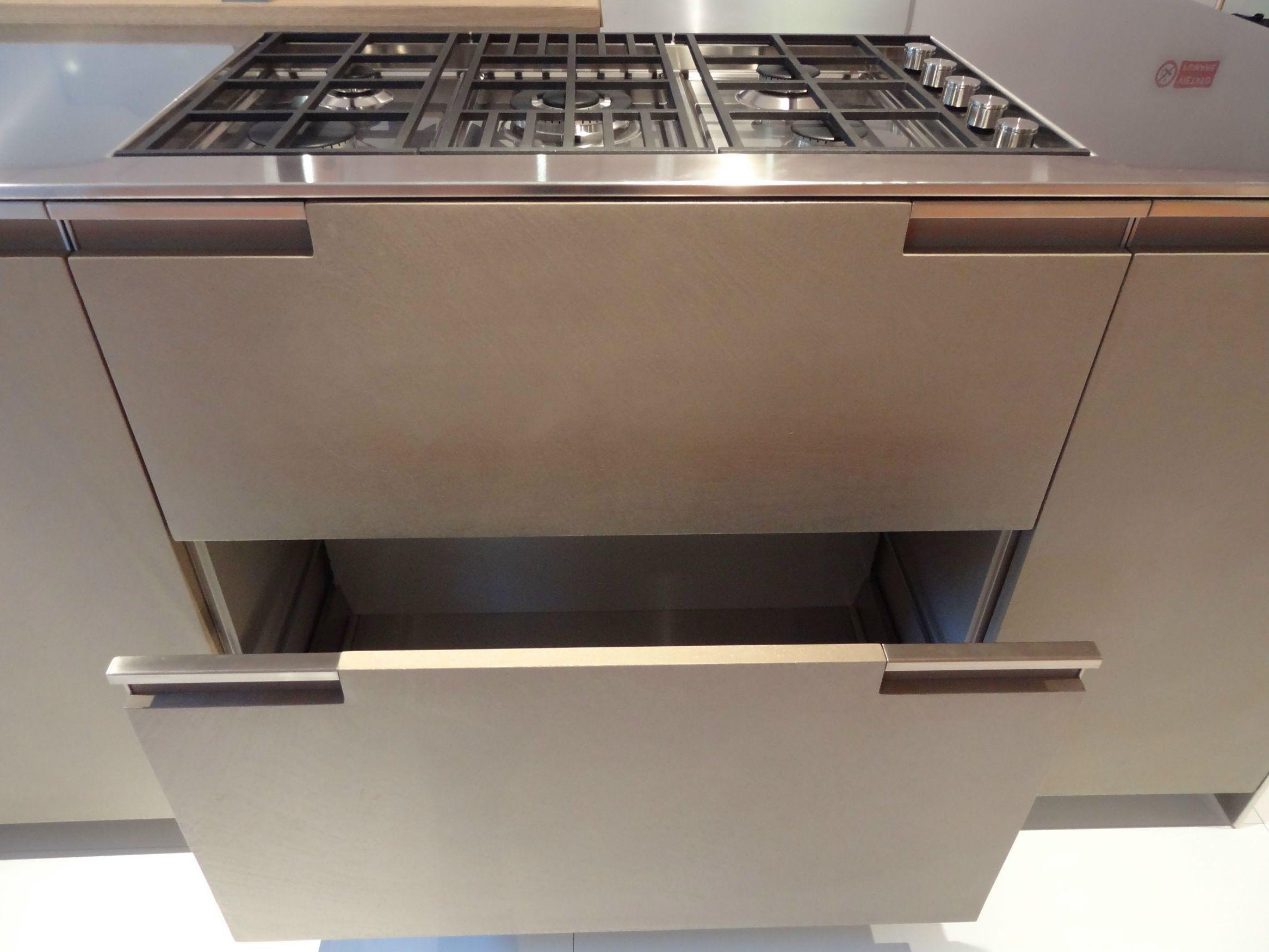 NOBLESSE Cucina In MDF By Aster Cucine Design Lorenzo Granocchia #7F734C 2333 1750 Ante Cucina Disegnate