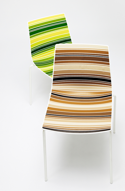 Technopolymer Chair Colorfive By Gaber Design Stefano