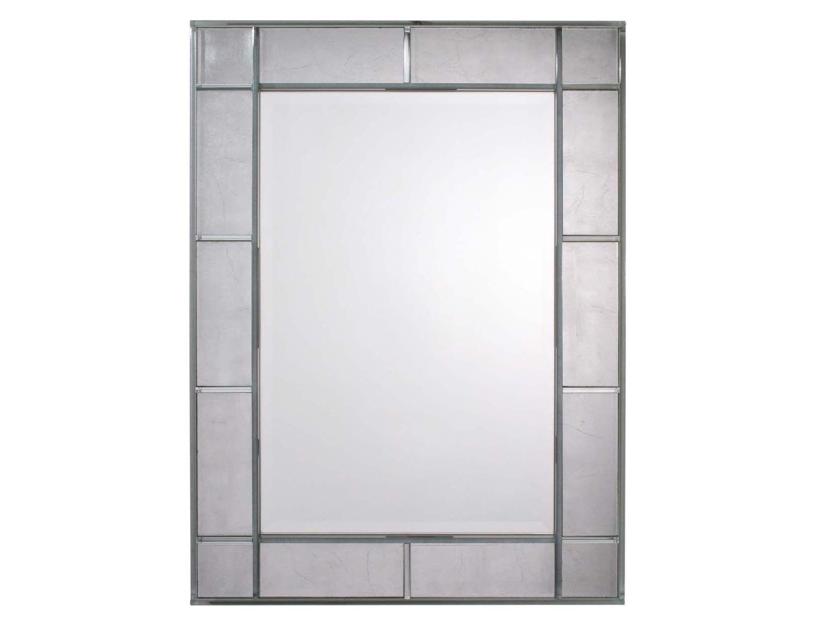 Miroir rectangulaire avec cadre mercure by veronese for Miroir rectangulaire design