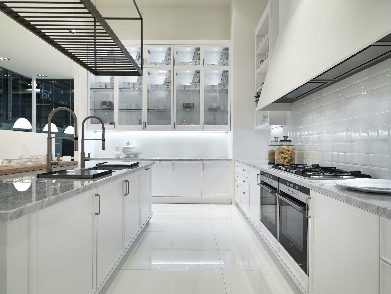 Avenue kitchen with island by aster cucine - Cucine valcucine opinioni ...