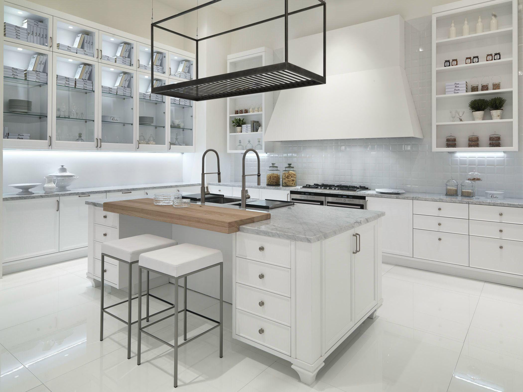 AVENUE Cuisine Avec îlot By Aster Cucine #5C4F43 2100 1575 Cucine Moderne A U