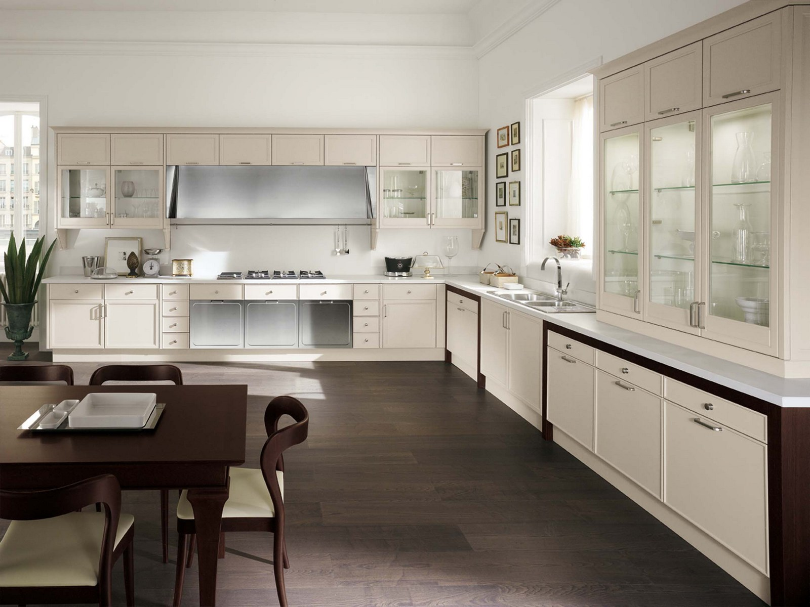 Avenue cuisine lin aire by aster cucine for Cuisine en lineaire