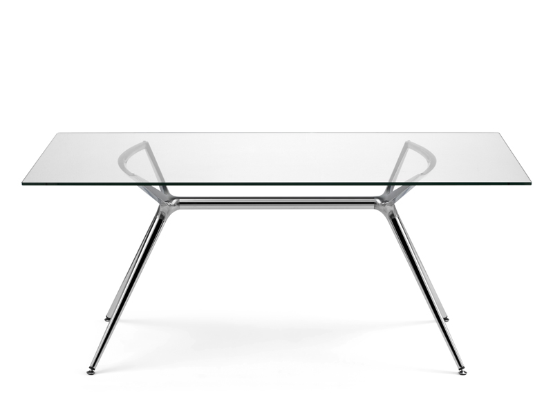 Metropolis rectangular table by scab design - Ikea tavoli per studio ...