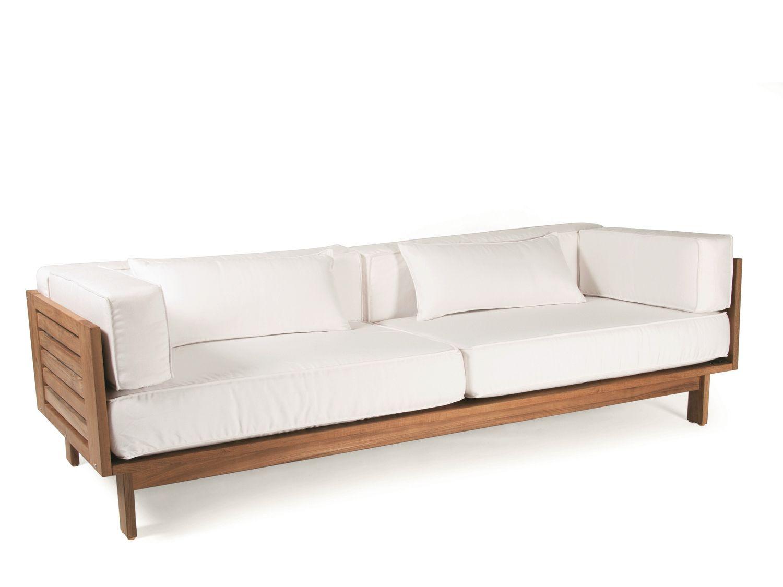 Falsterbo sof de jard n 3 plazas by skargaarden dise o - Muebles de teca para jardin ...