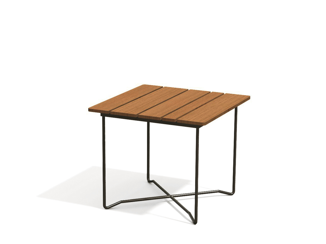 Grinda table d 39 appoint de jardin mange debout by for Table de jardin carre