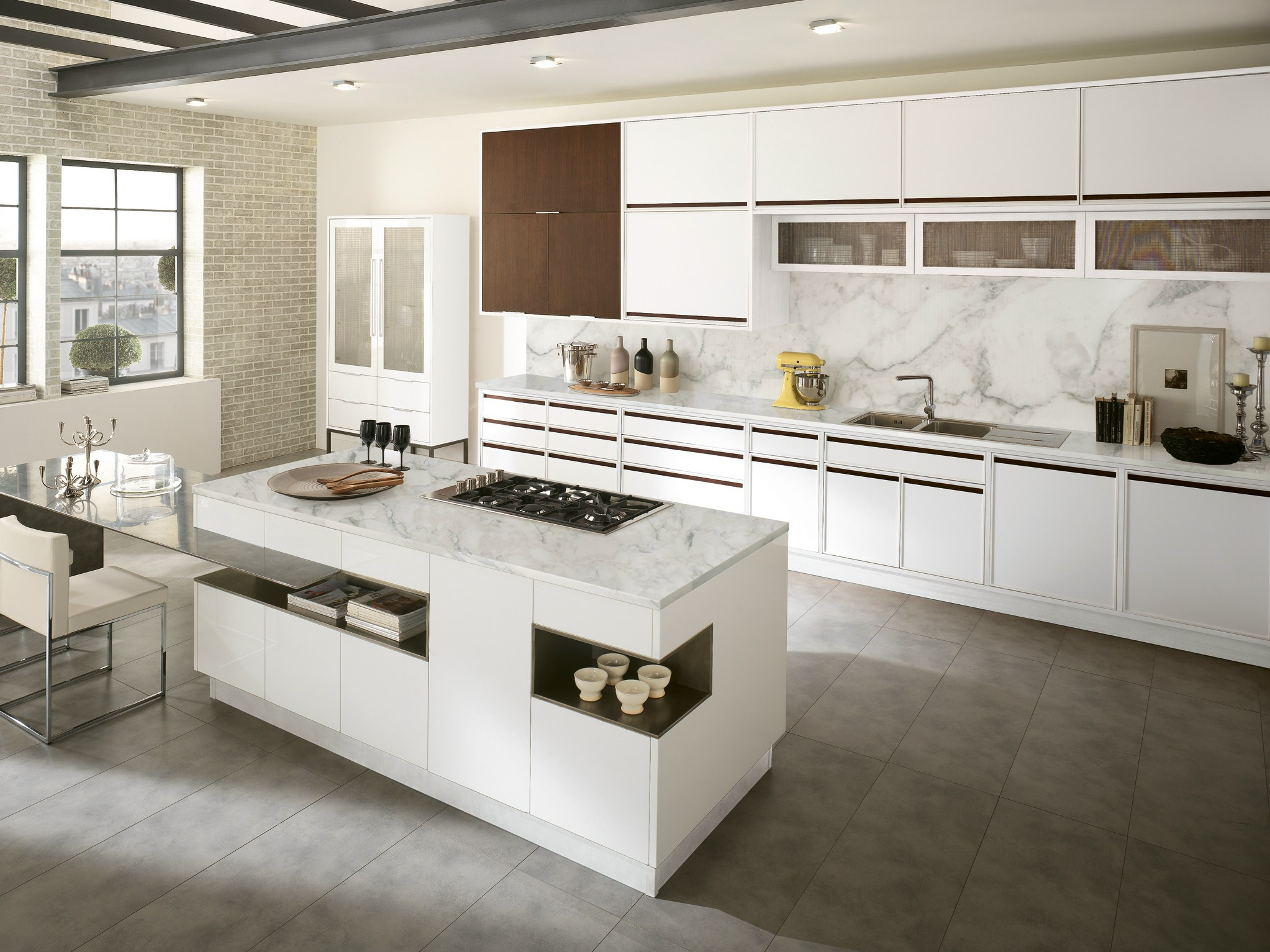 Timeline cucina con isola by aster cucine