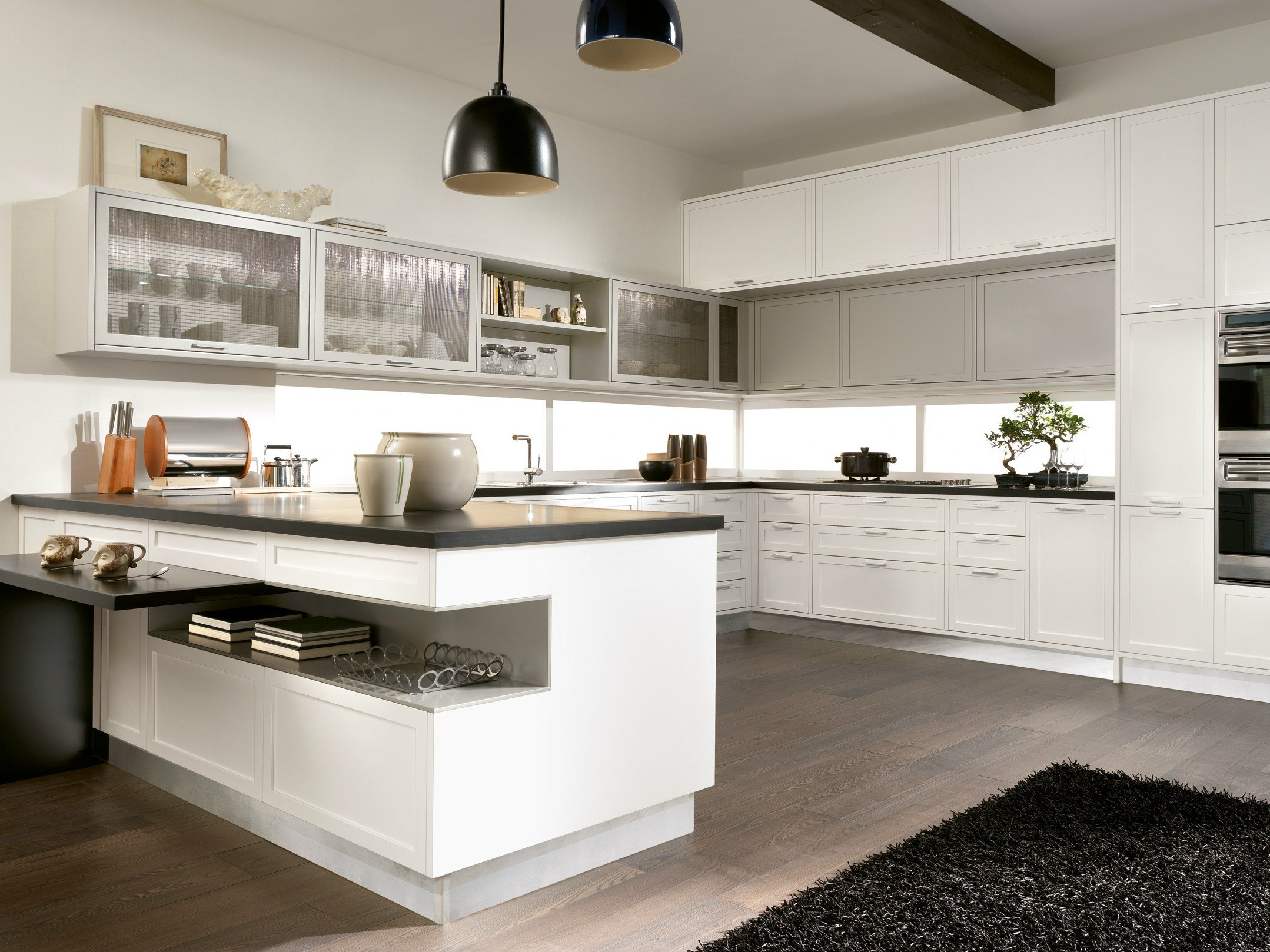 Timeline cucina con penisola by aster cucine - Penisola in cucina ...
