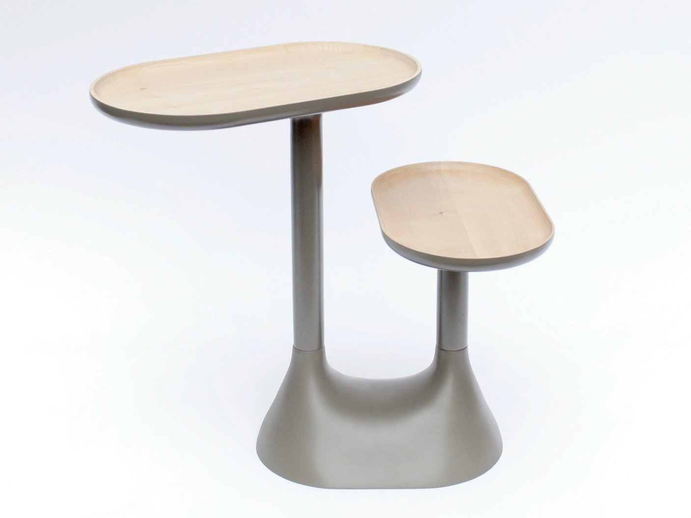 Table basse pivotante en bois baobab by moustache design ionna vautrin - Table basse pivotante ...