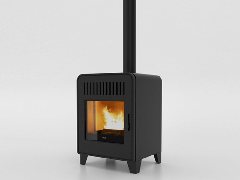 Pellet stove cute by mcz group design emo design - Cocinas de pellets ...