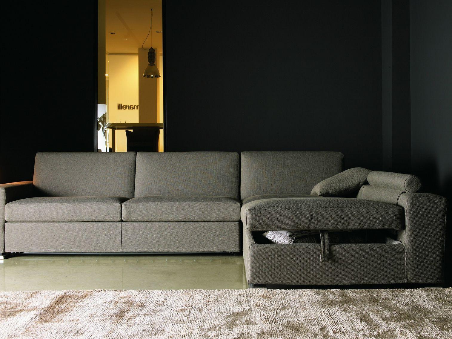 Plus divano letto in tessuto by giulio marelli italia - Divano letto in tessuto ...