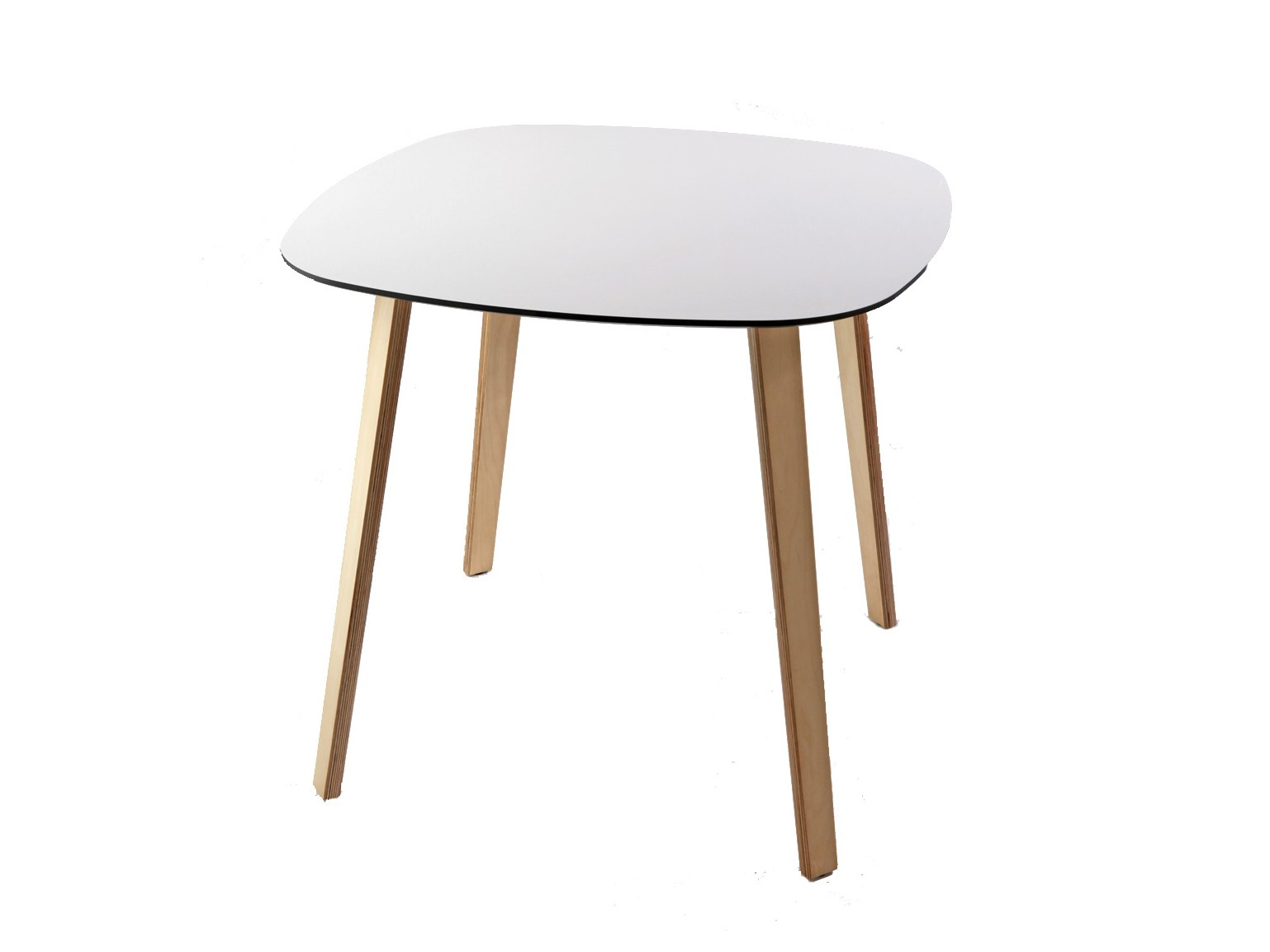 Lottus wood table by enea design lievore altherr molina for Table in table