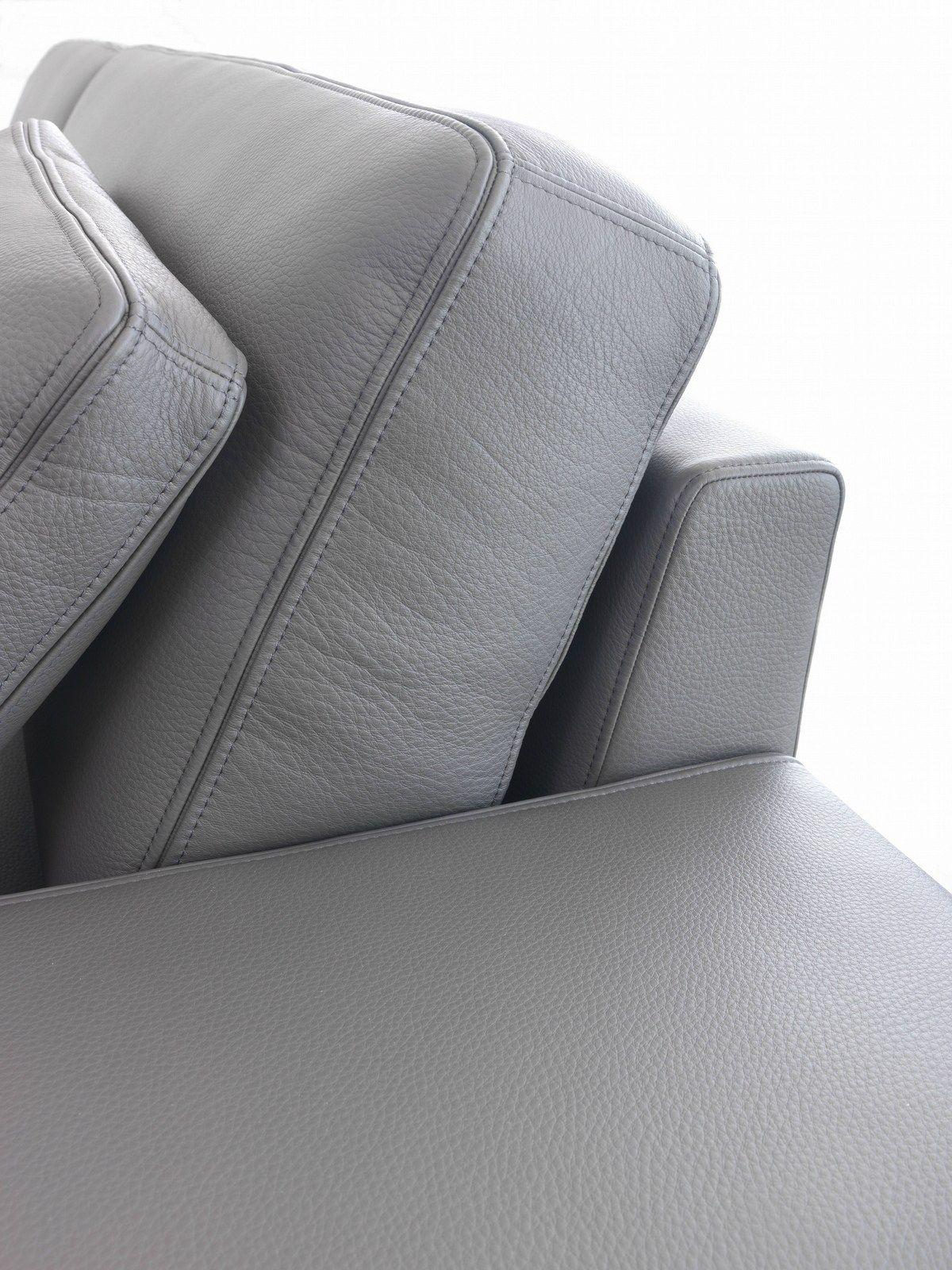 Leather Sofa Puro By Giulio Marelli Italia Design R D Studio Emme