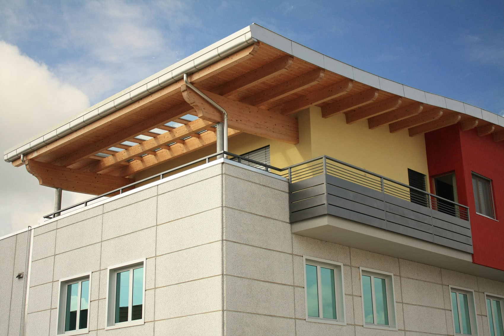 Integrated timber structural system x lam by lignoalp for Structural integrated panels