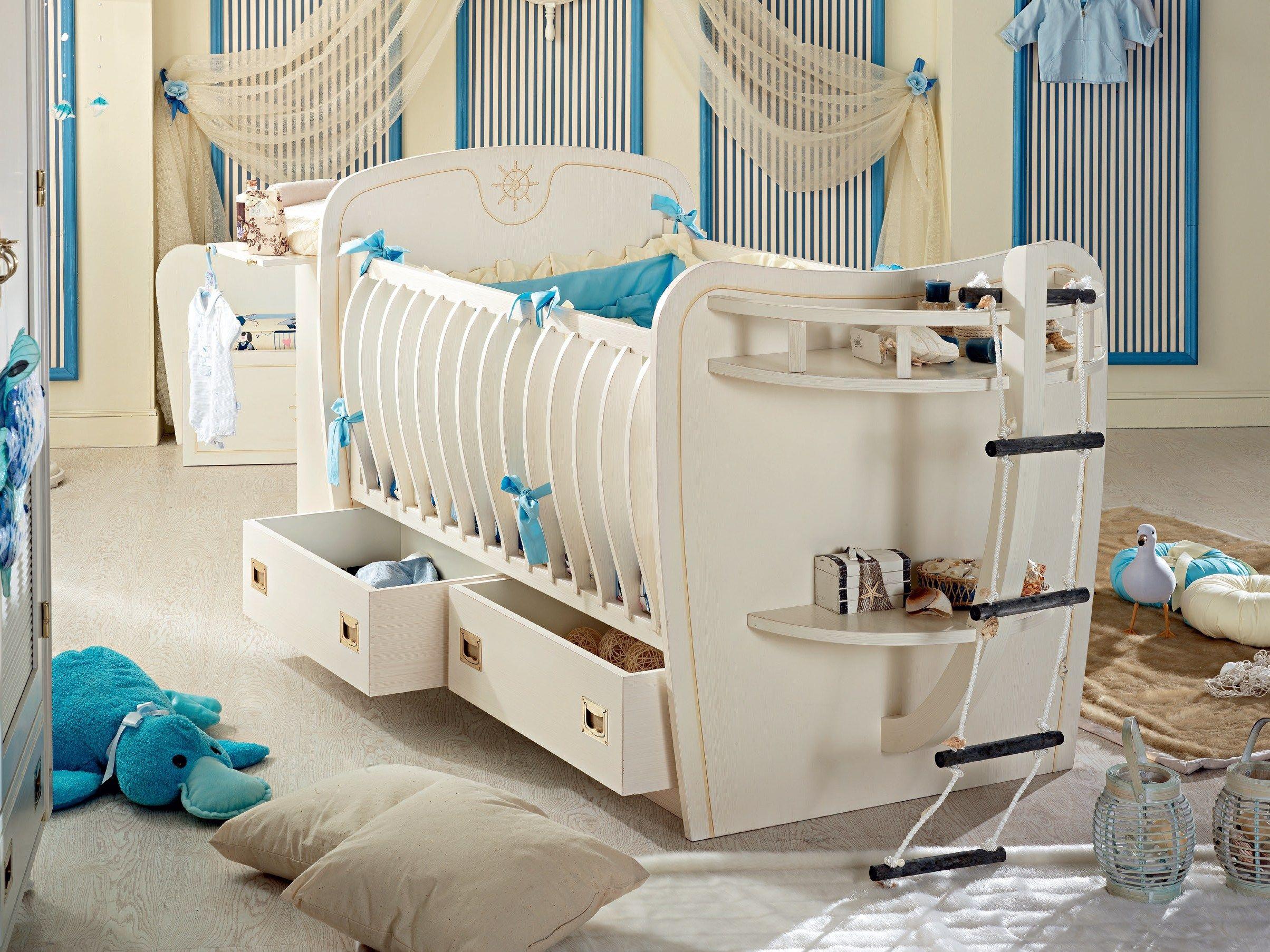 Camerette complete neonati armadio per bambini decorato a - Camerette complete neonati ...