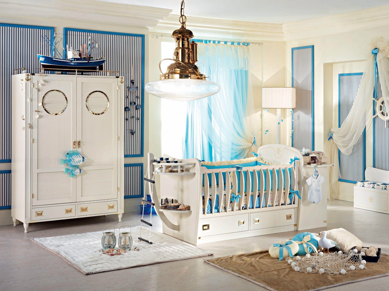 Cameretta componibile in legno per neonati passepartout baby by caroti