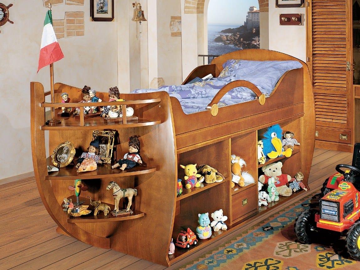 Cameretta del capitano by caroti - Camerette di legno ...