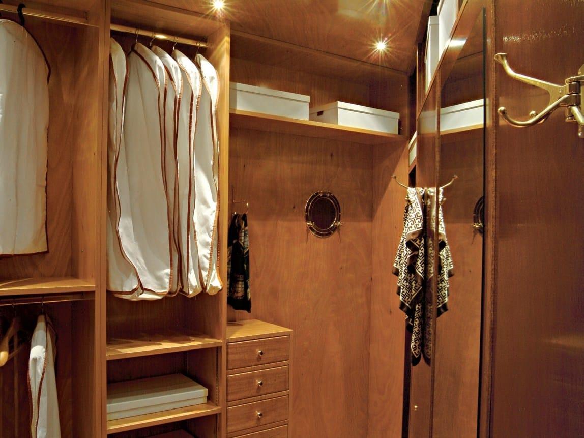 700 cabina armadio angolare by caroti - Strutture per cabine armadio ...