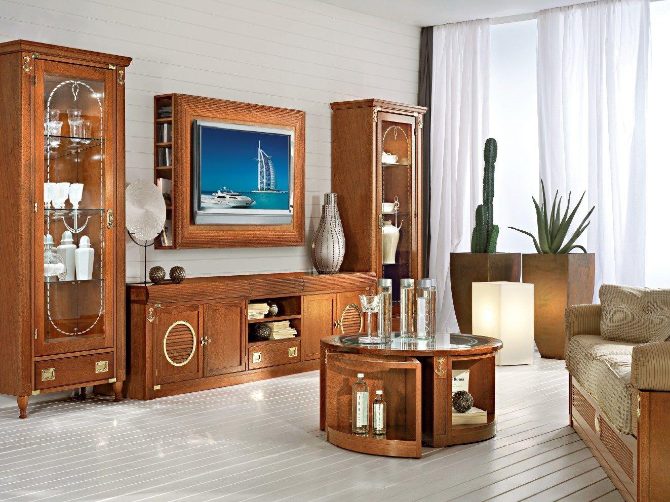 Mueble modular de pared montaje pared lacado de madera - Lacado de madera ...
