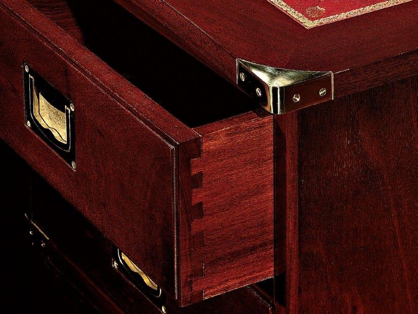 Schreibtisch Mit Bildergalerie : Regent schreibtisch mit schubladen by caroti