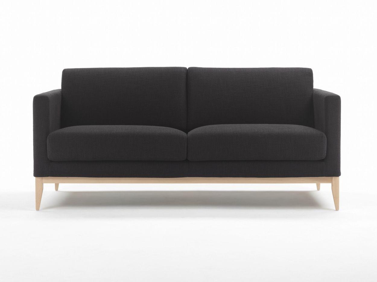 Wood Fabric Sofa By Giulio Marelli Italia Design Studio Crgm
