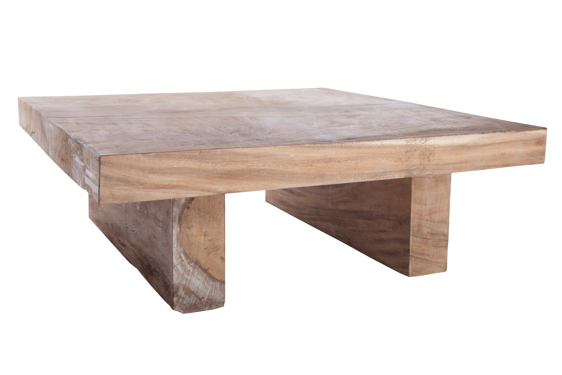 SQUARE SOLID WOOD COFFEE TABLE LOOK BY NORR11